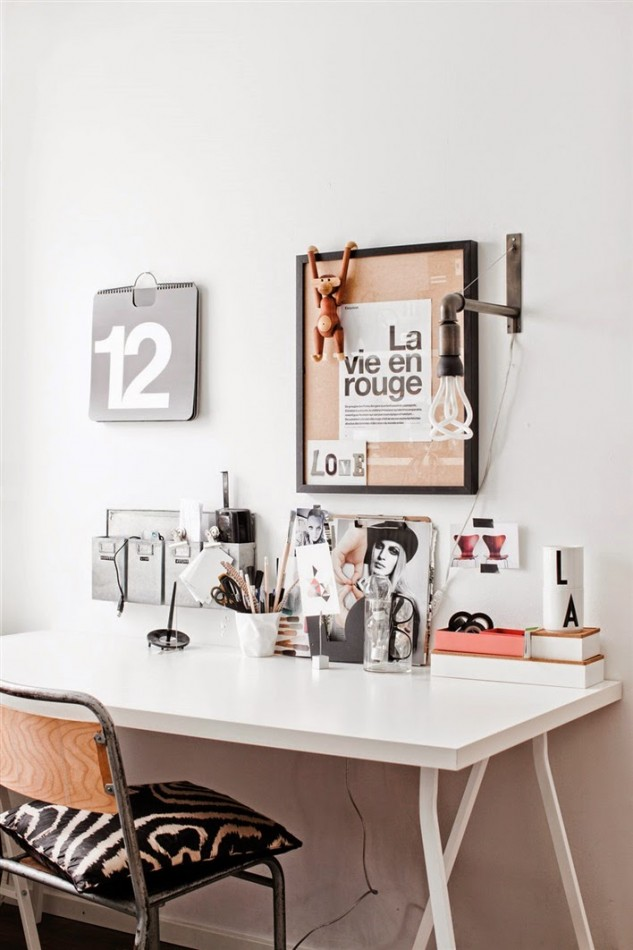 My Scandinavian Home Office Inspiration