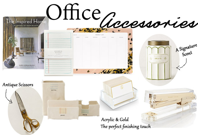 Home Office Inspiration-Accessories