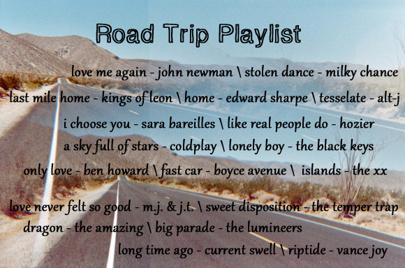 Road Trip Playlist