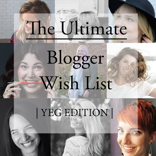 blogger wish list