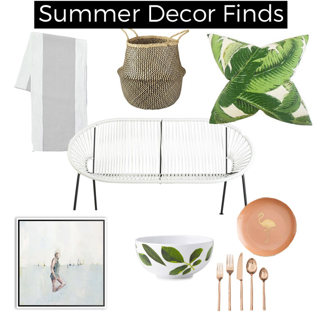 summer decor finds
