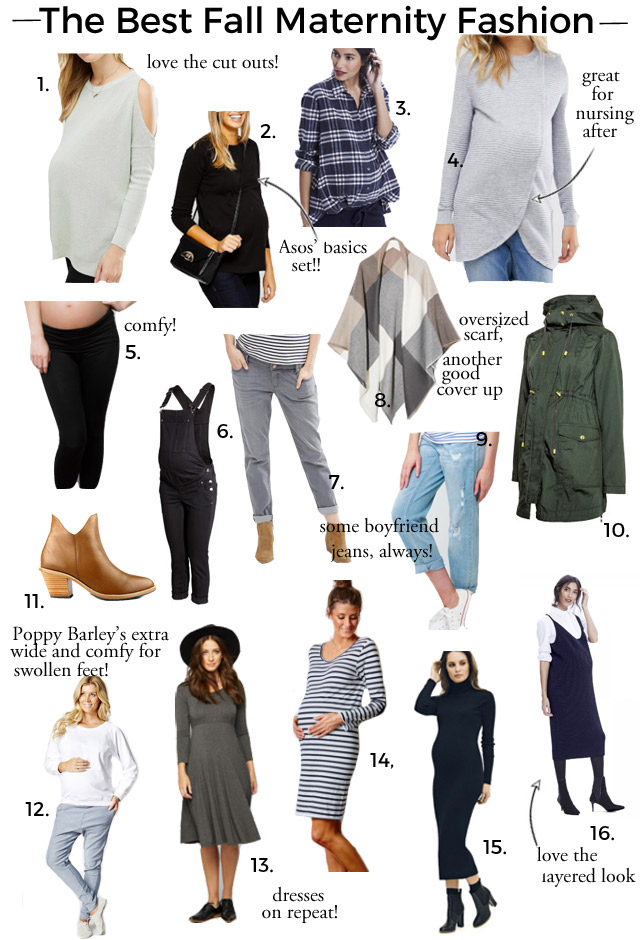 best fall maternity fashion